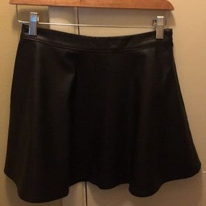 Abercrombie Kids Faux Leather Skirt Size L